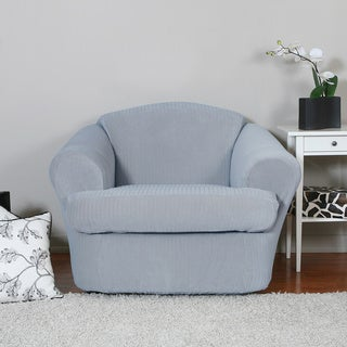 Spencer 2-piece Stretch Chair Slipcover