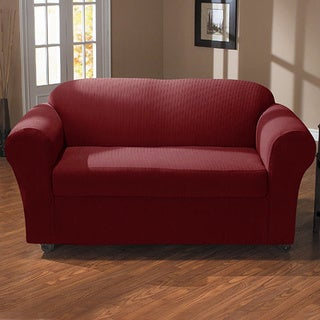 QuickCover Spencer 2-piece Stretch Loveseat Slipcover