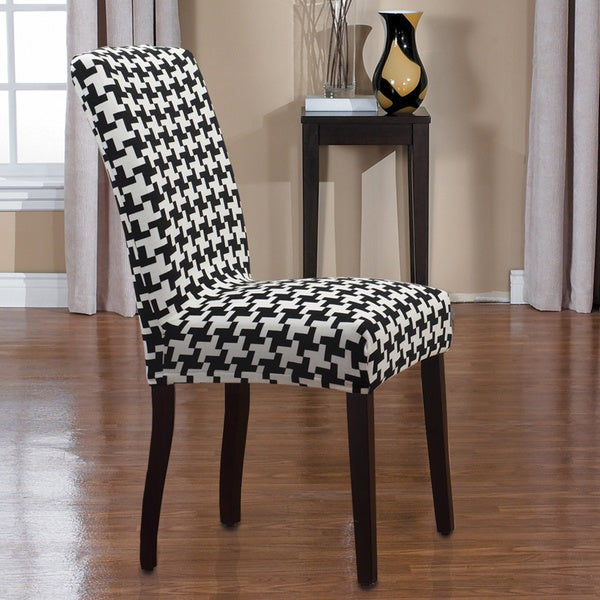 Shop Quickcover Hudson 1 Piece Stretch Dining Chair Slipcover Free Shipping On