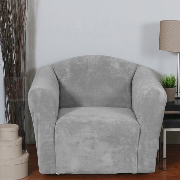 QuickCover Hanover 1-piece Stretch Chair Slipcover - Free Shipping