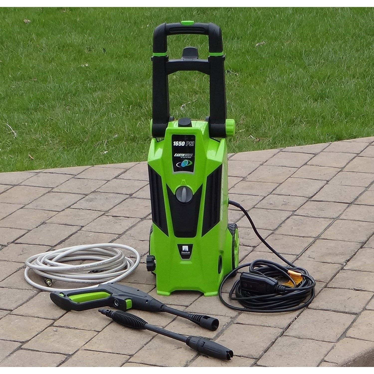 Esselte Electric Pressure Washer, 1650 PSI with Dual Oper...