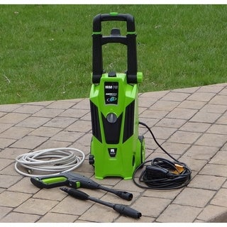 Earthwise Electric Pressure Washer, 1650 PSI with Dual Operation and Built-in Detergent Tank