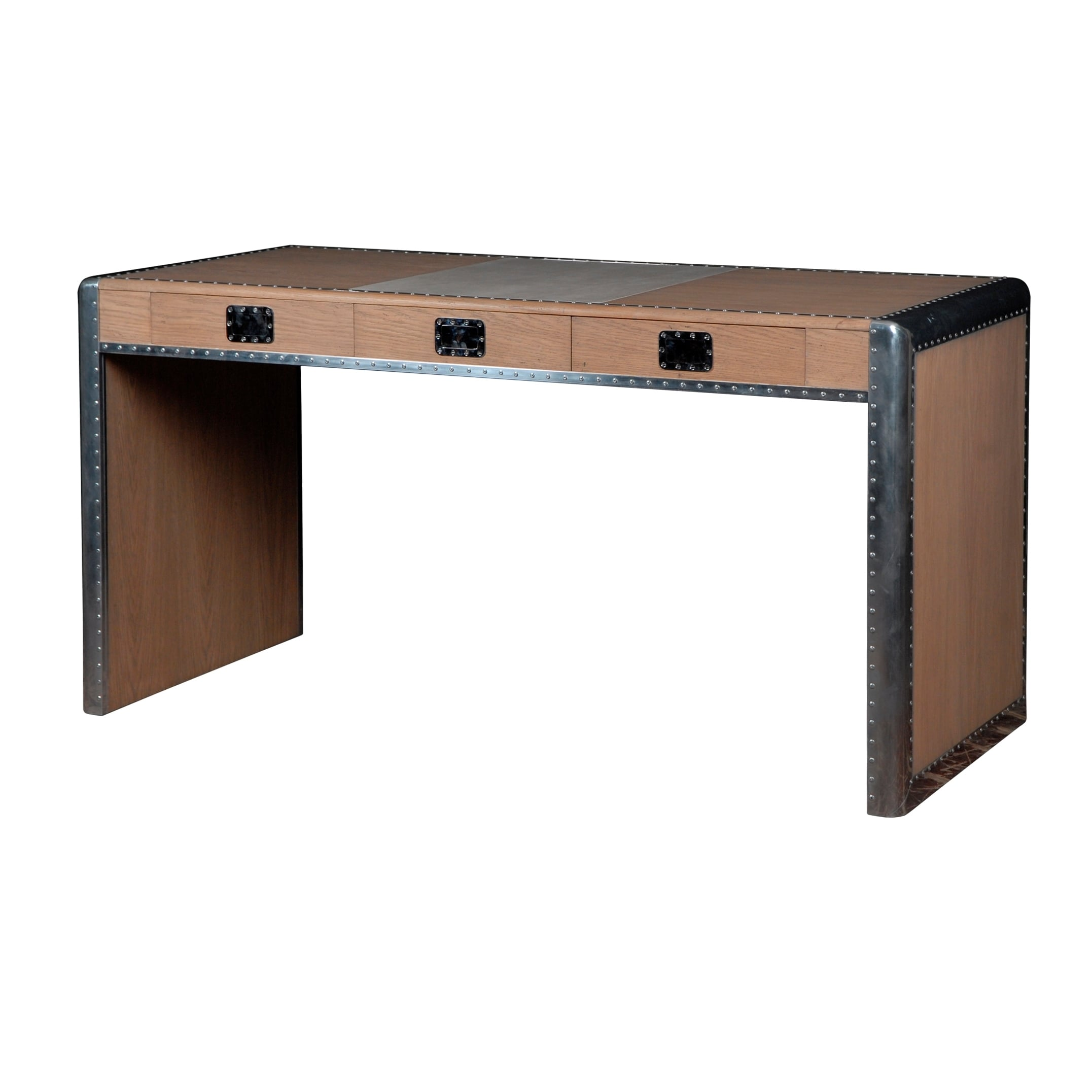 French Heritage Ferault Oak Desk Overstock 9677870