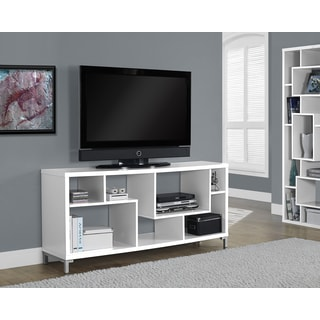 White Hollow-core 60-inch TV Console