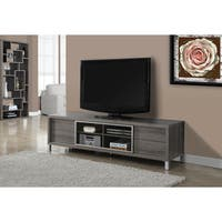 Dark Taupe Reclaimed-look 70-inch Euro TV Console