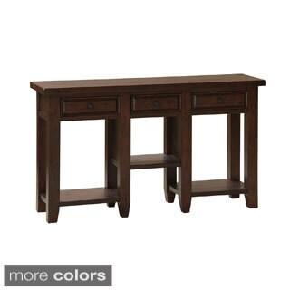 Tuscan Retreat 3-drawer Hall Table