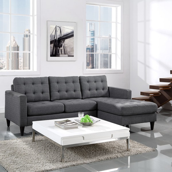 Shop Modway Empress Polyester Right Arm Sectional Sofa
