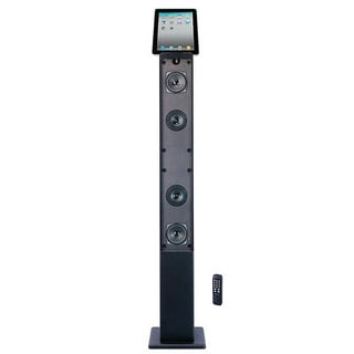 Craig Tower Speaker Digital FM Radio/ AUX Docking System for Apple 30-Pin Devices