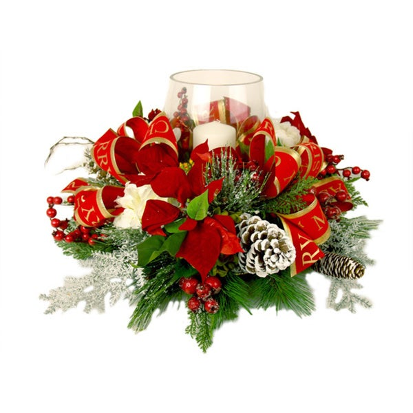 25 inch Christmas Poinsettia Candle Centerpiece Free  : Christmas Poinsettia Candle Centerpiece 809cbed3 8191 4728 8641 9577f61b2608600 from overstock.com size 600 x 600 jpeg 45kB