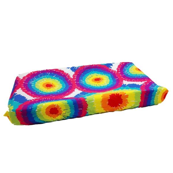 Terrific Tie Dye Changing Pad Cover