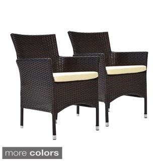 Bienal Bora Stocking Dining Side Chair with Cushion (Set of 2)