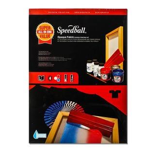 Speedball Super Value Opaque Screen Printing Kit