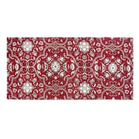 Festoon Collection Red Rug