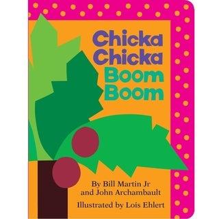 Simon & Schuster Chicka Chicka Boom Boom By Bill Martin