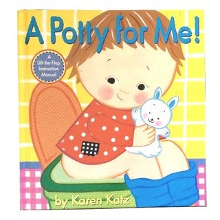 Simon & Schuster A Potty For Me By Karen Katz
