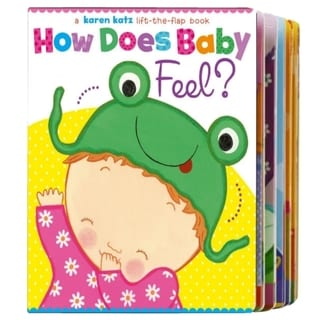 Simon & Schuster How Does Baby Feel By Karen Katz