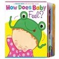 Simon & Schuster How Does Baby Feel By Karen Katz