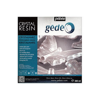 Pebeo Gedeo Crystal Resins (Option: Clear)