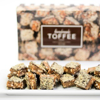 Toffee Boutique Dark Chocolate Toffee Box (2 options available)