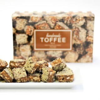 Toffee Boutique Milk Chocolate Toffee Box