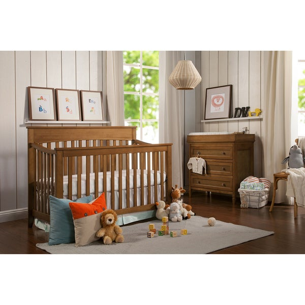 Davinci grove 4 in 1 convertible crib free shipping for Child craft soho 4 in 1 convertible crib in natural