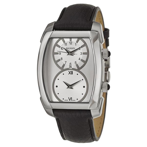 balmain men s b28013224 arcade stainless steel swiss quartz balmain men s b28013224 arcade stainless steel swiss quartz watch