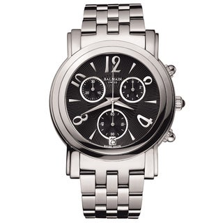 Balmain Men's B58813364 'Madrigal' Stainless Steel Swiss Quartz Watch