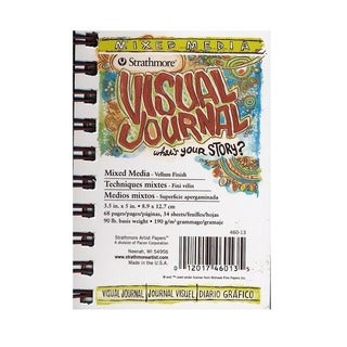 Strathmore Visual Mixed Media Journals - White