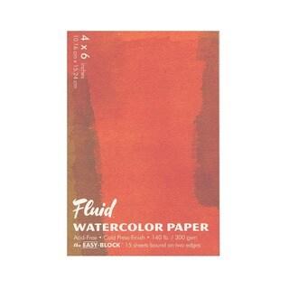 Global Art Fluid Cold Press Watercolor Paper