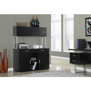 Cappuccino Hollow-core 48-inch Office Storage Credenza