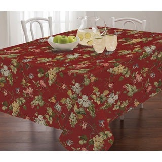 Waverly Napoli Micro Fiber Table Cloth