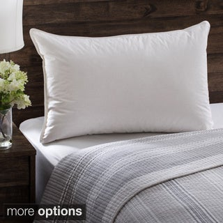 European Heritage Luxury Allure Soft Hypoallergenic White Down Pillow