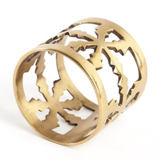 Snowflake Design Napkin Ring (Set of 4)