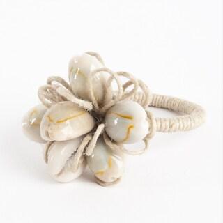 Shell Design Napkin Ring (Set of 4)