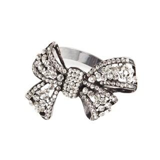 Bow Design Napkin Ring (Set of 4)