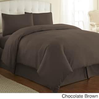 Snug Oversized Microfiber Duvet Cover Set By Souths Fine Linens