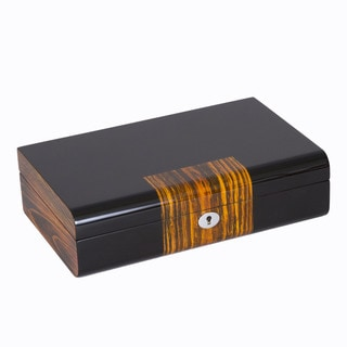 Ebony Wood Unisex Jewelry Box