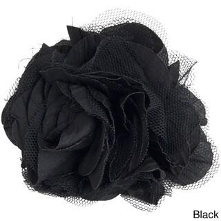 Flower Design Napkin Rings (Set of 4)