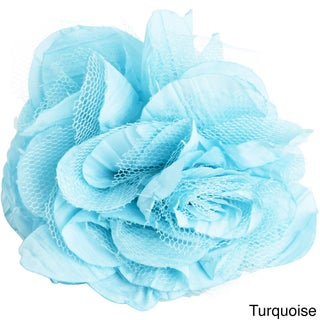 Flower Design Napkin Rings (Set of 4)