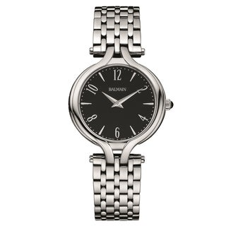 Balmain Women's B14513364 'Ivoire' Stainless Steel Swiss Quartz Watch