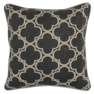 Kosas Home Rachel Geo Grey 20-inch Decorative Throw Pillow