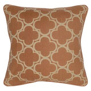Kosas Home Rachel Geo Mandarin 20-inch Feather Filled Decorative Throw Pillow