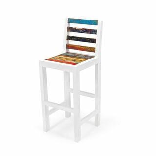 Even Keel Reclaimed Wood Bar Chair