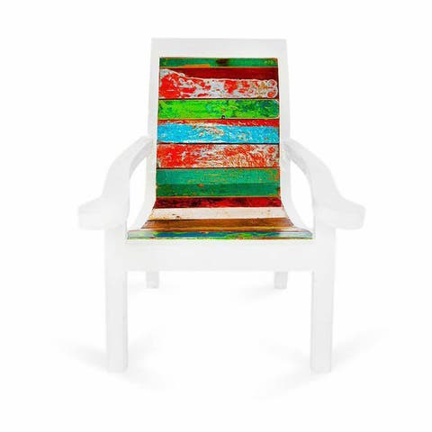 Pacific Bliss Reclaimed Wood Dining Chair