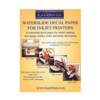 Lazertran Waterslide Decal Paper