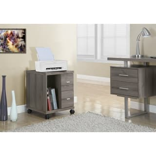 Dark Taupe Reclaimed Look 2-drawer Mobile Castor Stand|https://ak1.ostkcdn.com/images/products/9678920/P16858256.jpg?impolicy=medium