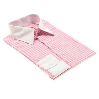 Elie Balleh Boys Gingham Plaid Button-down Shirt