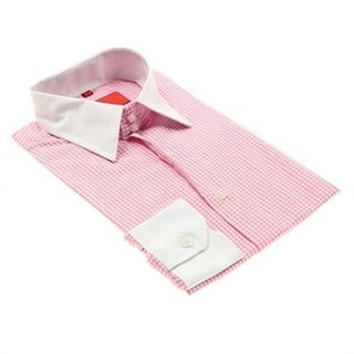 Elie Balleh Boys Slim Fit Cotton Button-down Dress Shirt