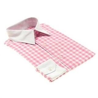 Elie Balleh Boys Cotton Gingham Plaid Button-down Shirt