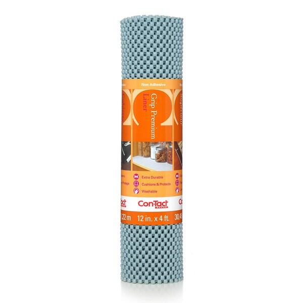 Con-Tact Brand Grip Premium Non-adhesive Shelf Liner, Lagoon 12 x 48-inch (6 Pack)